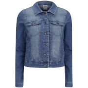Vero Moda Women's Soya Denim Jacket - Blue Denim