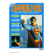 Superman Starburst Fine Art Print