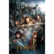 The Hobbit Collage - Maxi Poster - 61 x 91.5cm