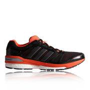 adidas Men's Supernova Sequence Trainers - Black/Metallic/Red