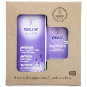 Weleda Lavender Bath Gift Set (Worth £66)