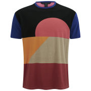 Marc by Marc Jacobs Men's Colour Blocked T-Shirt - Red