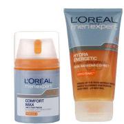 L'Oreal Paris Men Expert Duo- Hydra Energetic Cleansing Gel & Hydra Energetic Comfort Max