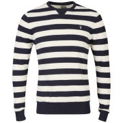 Farah 1920 Men's Simmons Jumper - Ecru