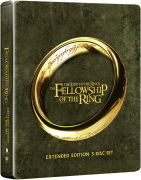 Lord of the Rings: Fellowship of the Ring - Extended Edition Steelbook (Includes UltraViolet Copy)