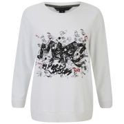 Marc by Marc Jacobs Women's Tag Sweatshirt - White
