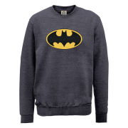 DC Comics Sweatshirt - Batman Logo - Steel Grey