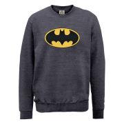 DC Comics Sweatshirt - Batman Logo - Steel Grey