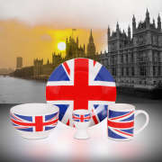 Cool Britannia 4-piece Breakfast Set