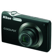 Nikon S3000 Digital Camera  Black (12MP  4x wide Optical Zoom) 2.7 Inch LCD  Grade A Refurb