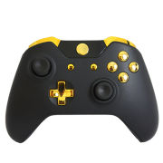 Official Xbox One Wireless Custom Controller - Gold on Matte Black