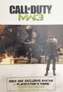 Call Of Duty: Modern Warfare 3 Exclusive Avatar and Theme