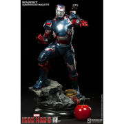 Sideshow Collectables Marvel Iron Patriot 22 Inch Maquette