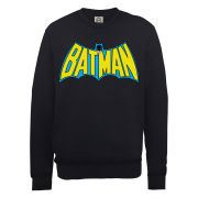 DC Comics Sweatshirt Batman Retro Logo - Black