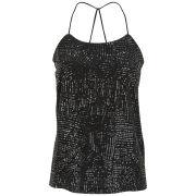 Vero Moda Women's Katty Sequin Top - Black