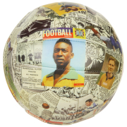 Charles Buchan Montage Football