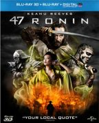 47 Ronin 3D - Limited Edition Lenticular Cover (Includes UltraViolet Copy and 2D Version)