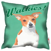 Paperlollipop Walkies Cushion