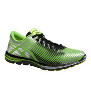 Asics Men's Gel Super J33 Natural Running Shoes - Flash Green/Onyx/Silver