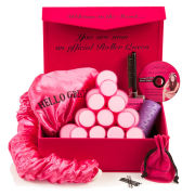 Sleep In Rollers Deluxe Volume Gift Set (Velour)