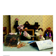 Wallace and Gromit Fine Art Print - It Doesn't Work