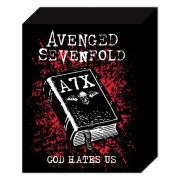 Avenged Sevenfold God Hates Us - 40 x 30cm Canvas