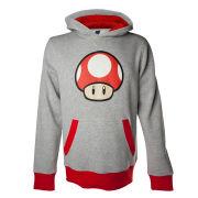 Mushroom - Hoodie (Grey)
