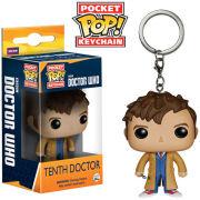 Doctor Who 10th Doctor Pocket Pop! Vinyl Figure Key Chain