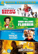 Disney Adventures (8 Below / Flubber / Race to Witch Mountain / National Treasure)