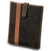 dbramante1928 Leather iPad Slip Cover (iPad 2, 3, 4, Air, and Air 2) - Hunter Stripe