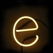Seletti Neon Letter E