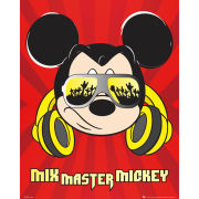 Mickey Mouse Mixmaster - Mini Poster - 40 x 50cm