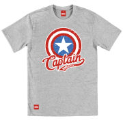 Creative Distribution Captain America Mens T-Shirt - Vintage product image