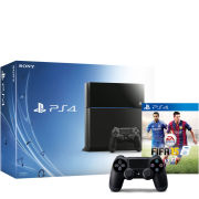 Sony PlayStation 4 500GB Console - Includes FIFA 15 + Extra Dualshock 4 Controller