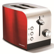 Morphy Richards Accents 2 slice Polished Toaster - Red