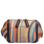 Paul Smith Accessories Women's Leather Pouch - Multi Swirl