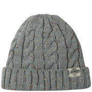 Tokyo Laundry Men's Cahir Nepp Cable Beanie - Light Grey