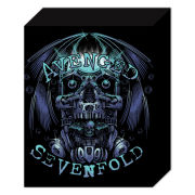 Avenged Sevenfold Skull - 40 x 30cm Canvas