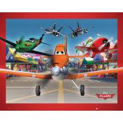Planes Airport - Mini Poster - 40 x 50cm