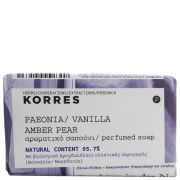 Korres Peonia, Vanilla, Amber And Pear Soap 125g