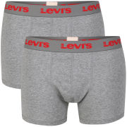 Levi's Men's Ethan 2-Pack Boxers - Grey
