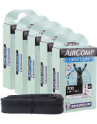 Michelin Aircomp Road Short Valve Inner Tube - Pack of 5