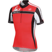 Castelli Autentica Kid Jersey - Red