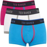 Ted Baker Men's 3-Pack Plain Coloured Trunks - Assorted