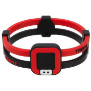 Trion:Z Duoloop Wristband - Black/Red