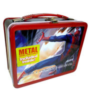 Spider-Man Lunchbox with Metal Drinking Flask