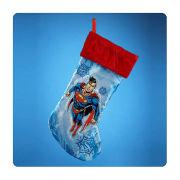 Superman 19 Inch Christmas Stocking