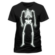 Halloween Men's T-Shirt - Skeleton Glow
