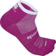 Sportful Women's Pro 3 Socks - Purple/White