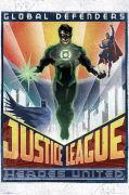 DC Comics Green Lantern Art Deco - Maxi Poster - 61 x 91.5cm